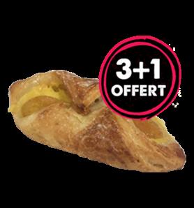 Lot 3+1 Croissant Abricot
